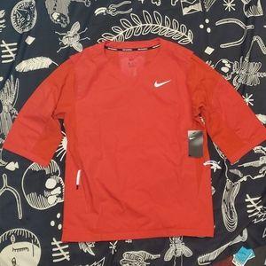 Nike Hot baseball 3/4 sleeve jacket